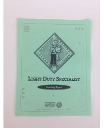 Light Duty Scouting Reports