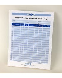 Equipment: Safety Check-out & Check-in Logs