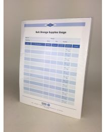 Bulk Storage Supplies Usage Forms