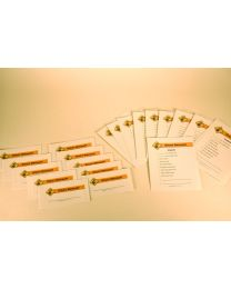 Utility Specialist Distribution Tray Labels Pack
