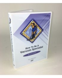 How to Be a Vacuum Specialist DVD