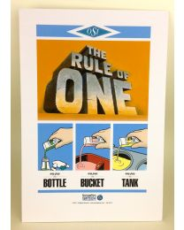 Rule of One Poster